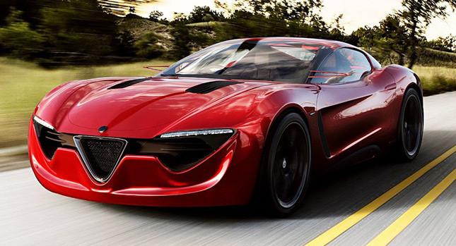 Alfa Romeo 6 C- Concept Carscoops 5