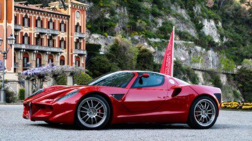 Alfa Romeo Diva concept by Espace Sbarro School of Design