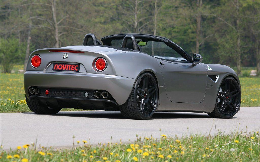 Novitec Alfa Romeo 8 C- Spider Widescreen 02